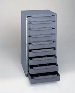 Model 611-95 Nine Drawer Work Van Cabinet - ShopStorageCabinets.com
