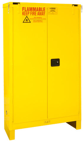 45 Gallon Self Closing Safety Cabinet w/Legs Model 1045SL-50 - ShopStorageCabinets.com