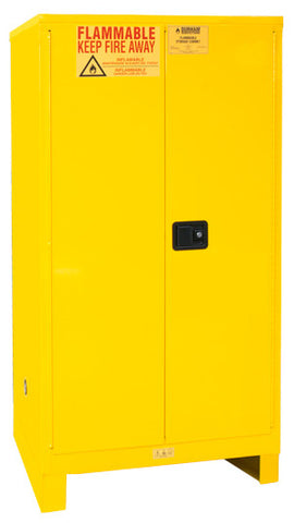60 Gallon Manual Closing Safety Cabinet w/Legs Model 1060ML-50 - ShopStorageCabinets.com
