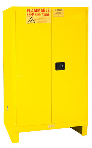 90 Gallon Manual Closing Safety Cabinet w/Legs Model 1090ML-50 - ShopStorageCabinets.com