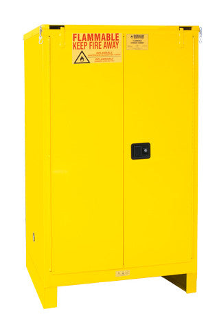 90 Gallon Self Closing Safety Cabinet w/Legs Model 1090SL-50 - ShopStorageCabinets.com