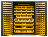 48x24x72 HD 16 Gauge Locker w/186 Bins - ShopStorageCabinets.com