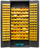 36x18x84 HD 16 Gauge Locker w/156 Bins - ShopStorageCabinets.com