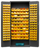 36x18x84 HD 14 Gauge Locker w/156 Bins - ShopStorageCabinets.com