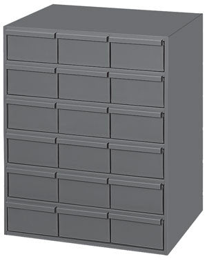 Model 006-95 18 Drawer Vertical Cabinet