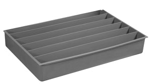 Model 124-95-06/HOR Large 6 Horizontal Compartment Insert - ShopStorageCabinets.com