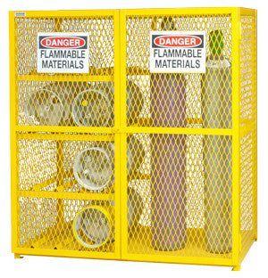 Combo Cylinder Storage Cabinet
