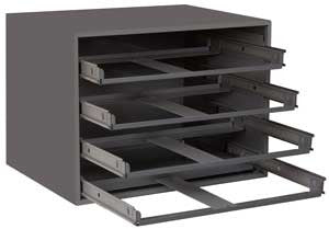 Model 307-95 Rack for 4 Large Compartment Boxes