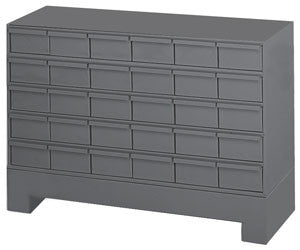 Model 024-95 Thirty Drawer Cabinet System - ShopStorageCabinets.com