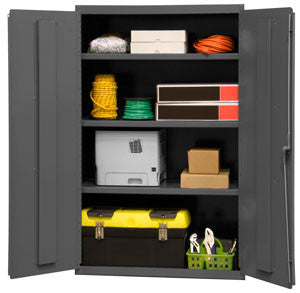 36x18x60 HD 14 Gauge Locker w/3 Shelves - ShopStorageCabinets.com