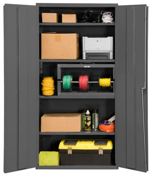 36x18x84 HD 14 Gauge Locker w/4 Shelves - ShopStorageCabinets.com