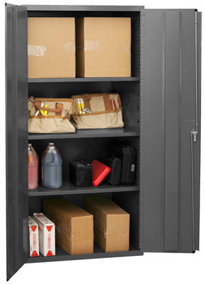36x24x72 HD 14 Gauge Locker w/3 Shelves - ShopStorageCabinets.com