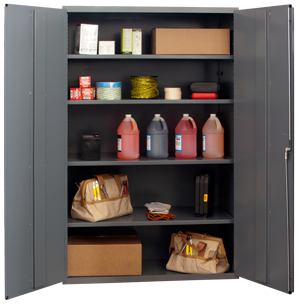 48x24x72 HD 14 Gauge Locker w/4 Shelves - ShopStorageCabinets.com