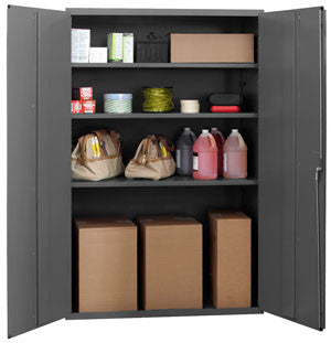 48x24x72 HD 14 Gauge Locker w/3 Shelves - ShopStorageCabinets.com