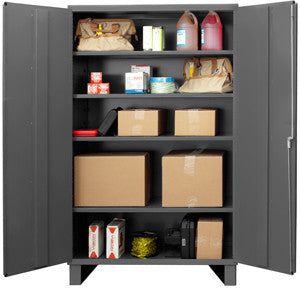 48x24x78 HD 14 Gauge Locker w/Feet and 4 Shelves - ShopStorageCabinets.com