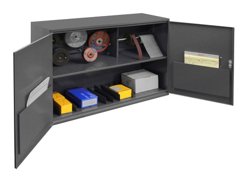 Model 060A-95-WFS Abrasive Accessory Cabinet 33-3/4 inches wide - ShopStorageCabinets.com