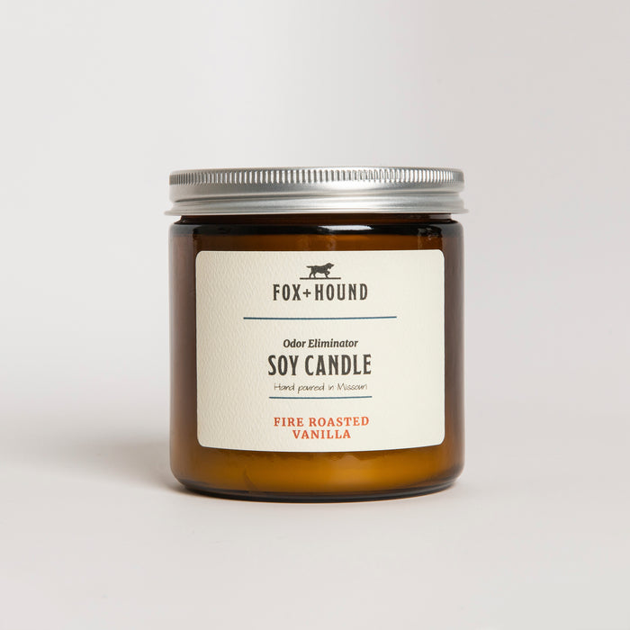 Fire Roasted Vanilla Odor-Eliminator Soy Candle