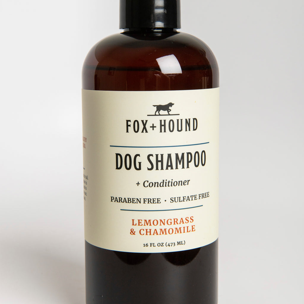 Lemongrass & Chamomile Dog Shampoo + Conditioner