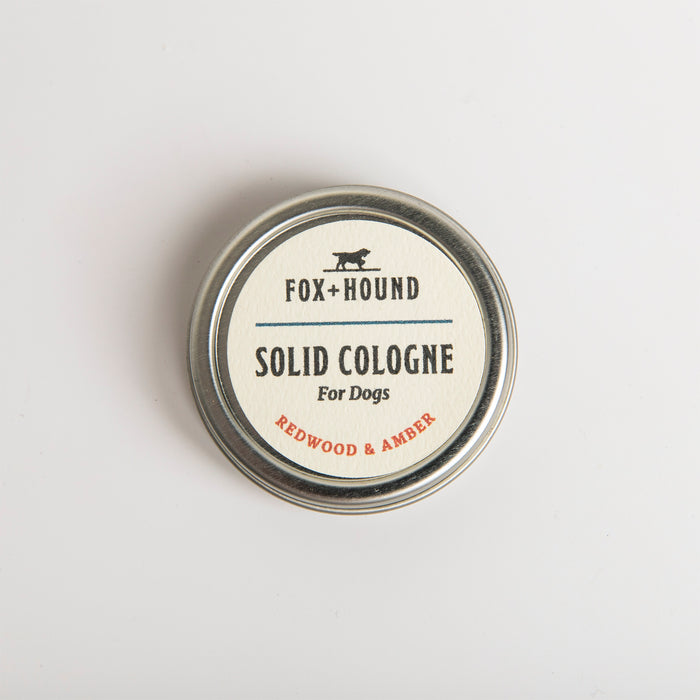 Solid Fragrance for Dogs Redwood & Amber