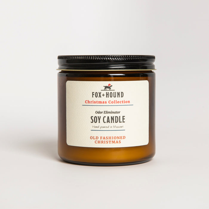 Old Fashioned Christmas Odor-Eliminator Soy Candle