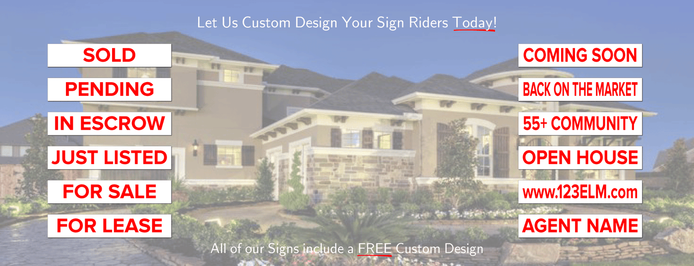 SIGN RIDERS