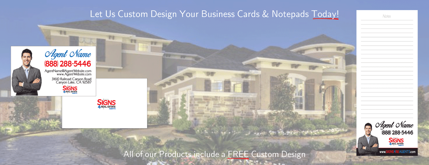 BUSINESS CARDS & NOTEPADS