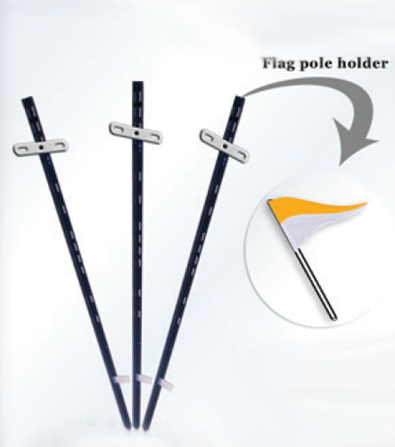 T-bar Stakes w/Flag Pole Holder