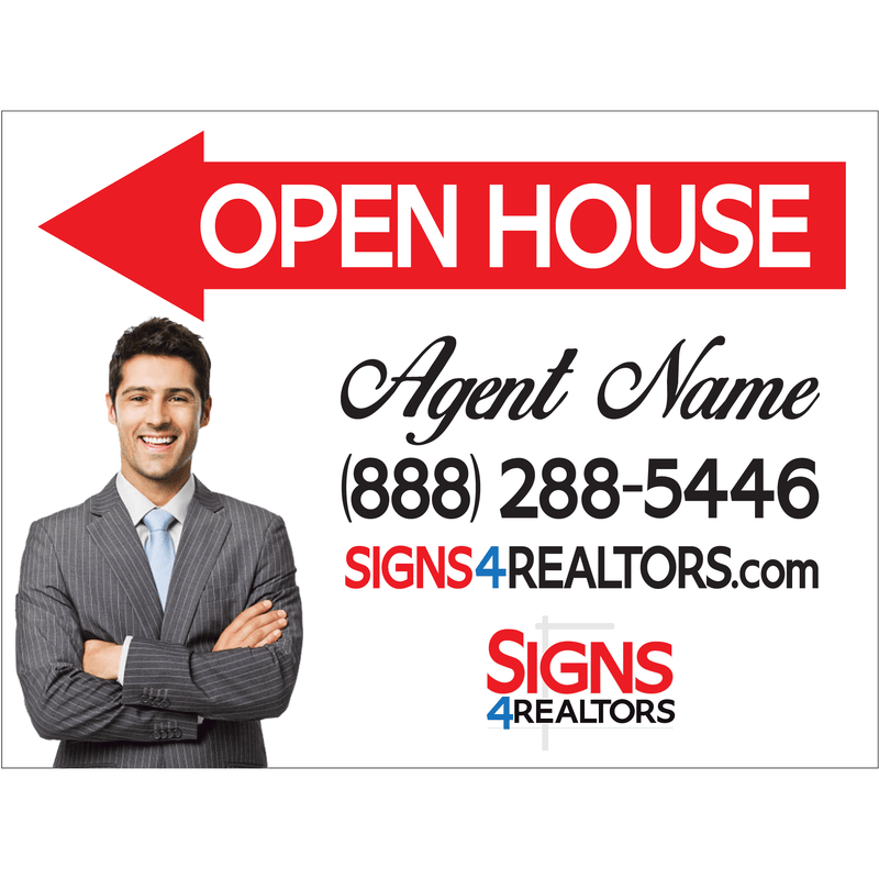 Open House Signs