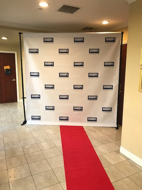 Step & Repeat Banner w/Stand