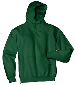 V200 - Forest Green Pullover Hooded Sweatshirt - Medium
