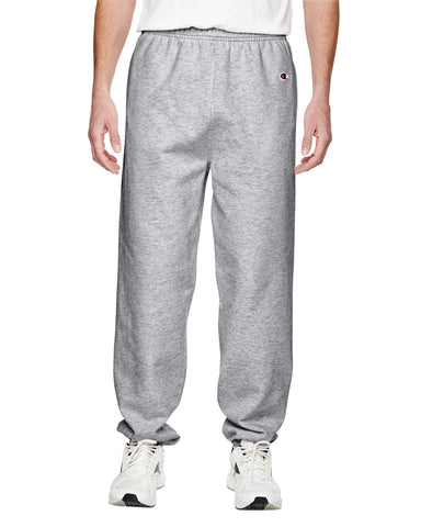 V600 - Athletic Heather Grey Champion Cotton Fleece Sweatpant - Small