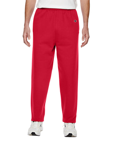 V600 - Red Cotton Fleece Sweatpant - X-Small