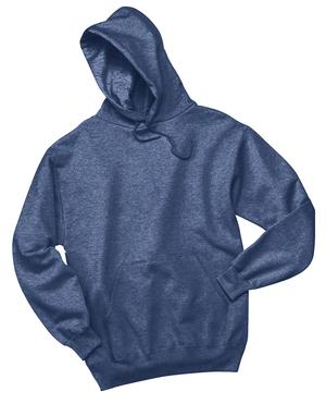 V200 - Heather Blue Pullover Hooded Sweatshirt - 4X-Large