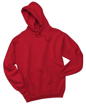 V200 - Red Pullover Hooded Sweatshirt - Small