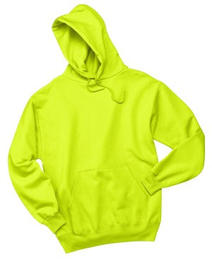 V200 - Safety Green Pullover Hooded Sweatshirt - 3X-Large