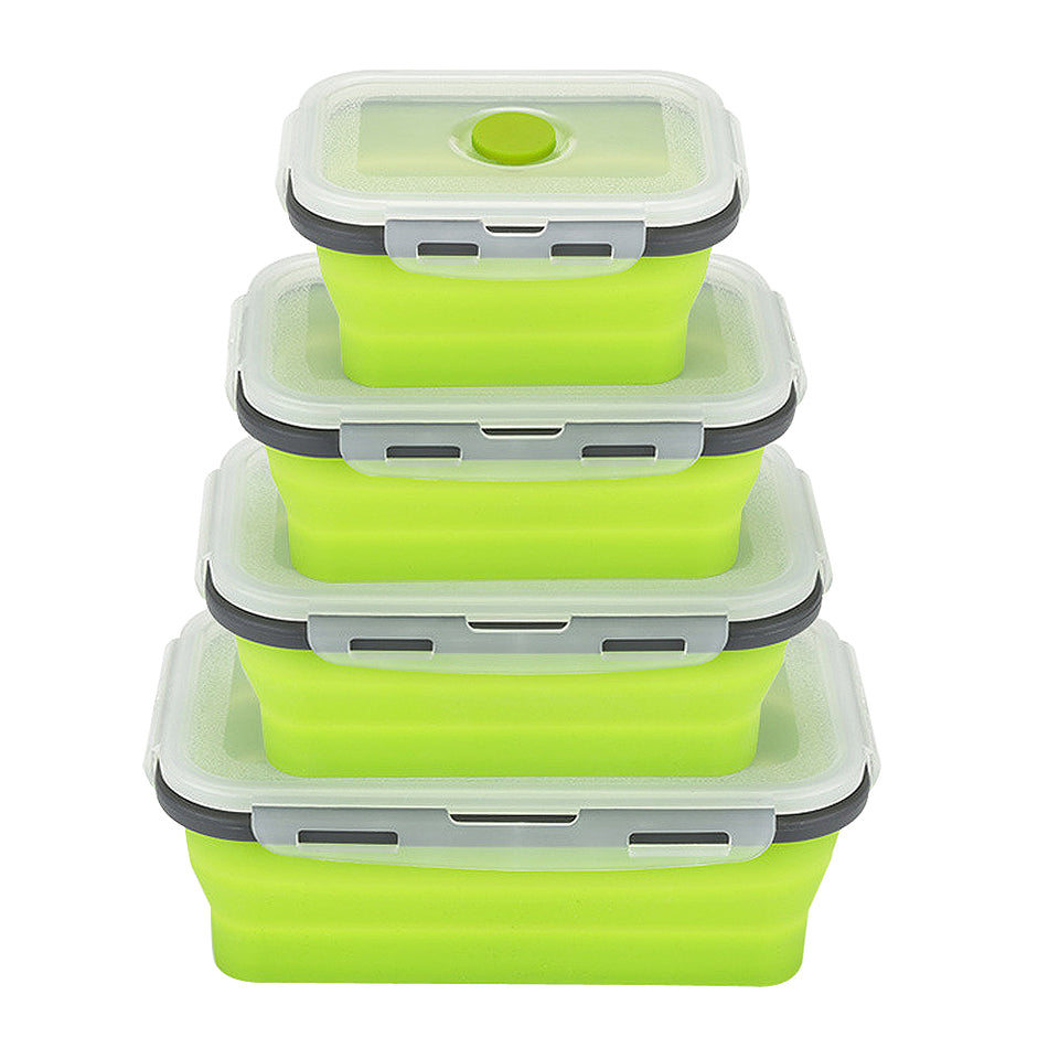 Collapsible Silicone Containers