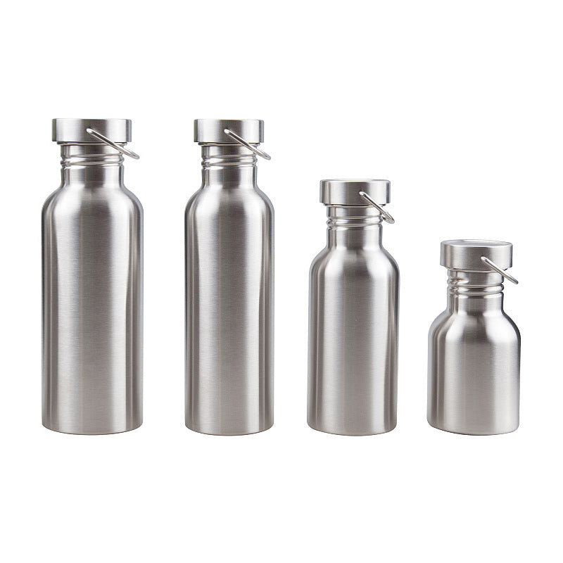Stainless Steel Water with Steel Caps;  sm/md/lg/xl
