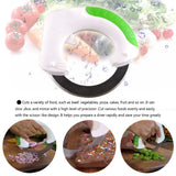 Rolling Knife Circular Kitchen Cutter -  Pizza Wheel/ Pastry Knife /Vegetable Chopper