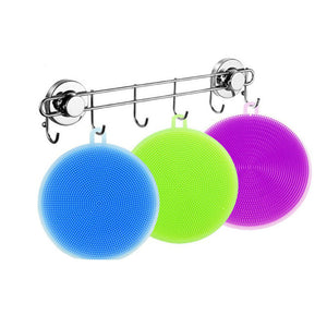 Silicone Dish Washing Sponge/Scrubber, multiple colors available