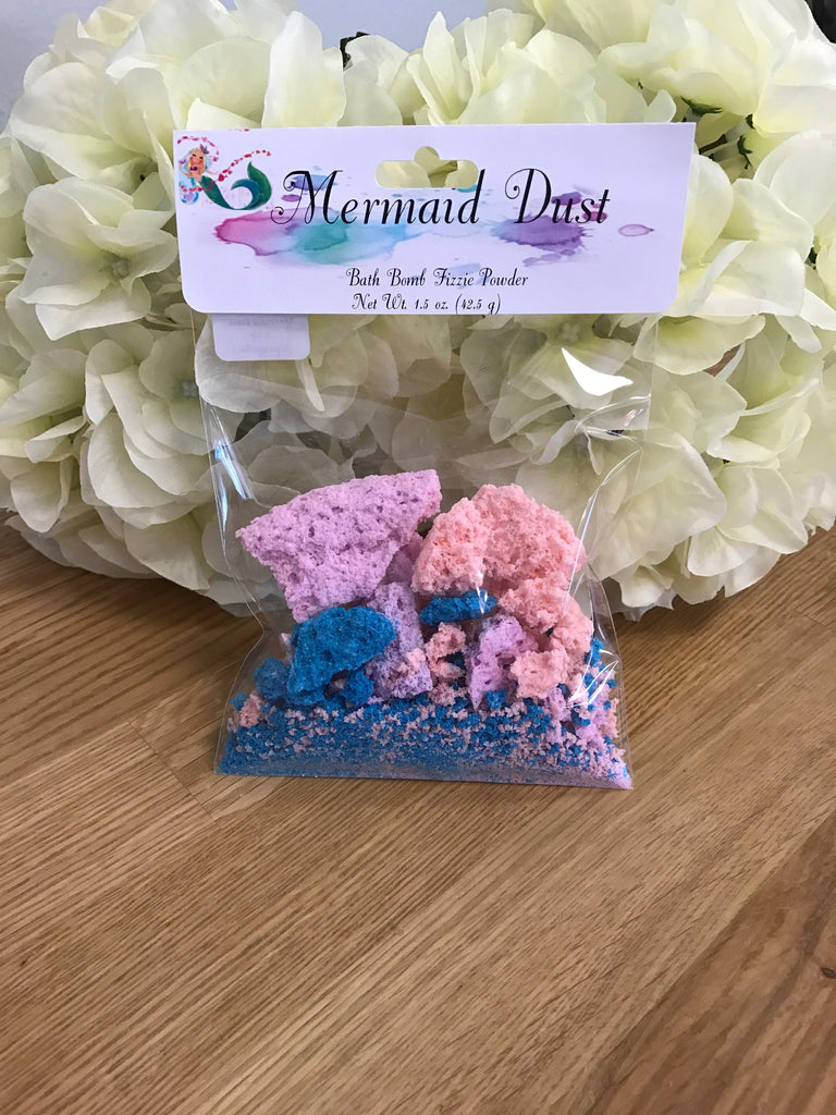 Mermaid Dust - Bath Bomb Fizzy Powder - 1.5 oz