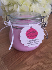 Petal Dance Sea Salt Scrub - 22 oz