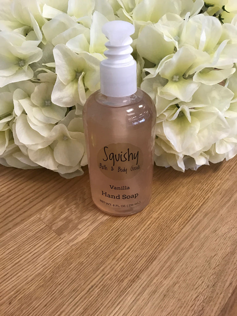 Vanilla Liquid Hand Soap - 8 oz