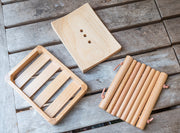 Beech Wood Soap Dishes - Available in Three Designs