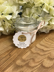 Vanilla Sea Salt Scrub - 22 oz