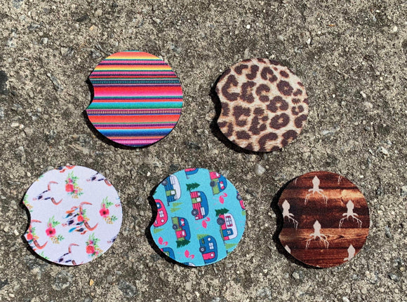 Drinkware : Neoprene Car Coasters