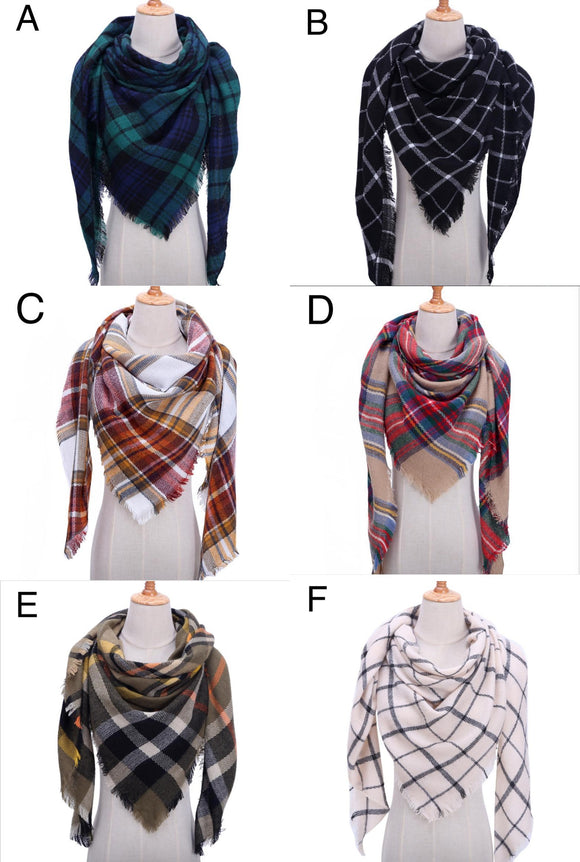 Seasonal :  Blanket Scarf