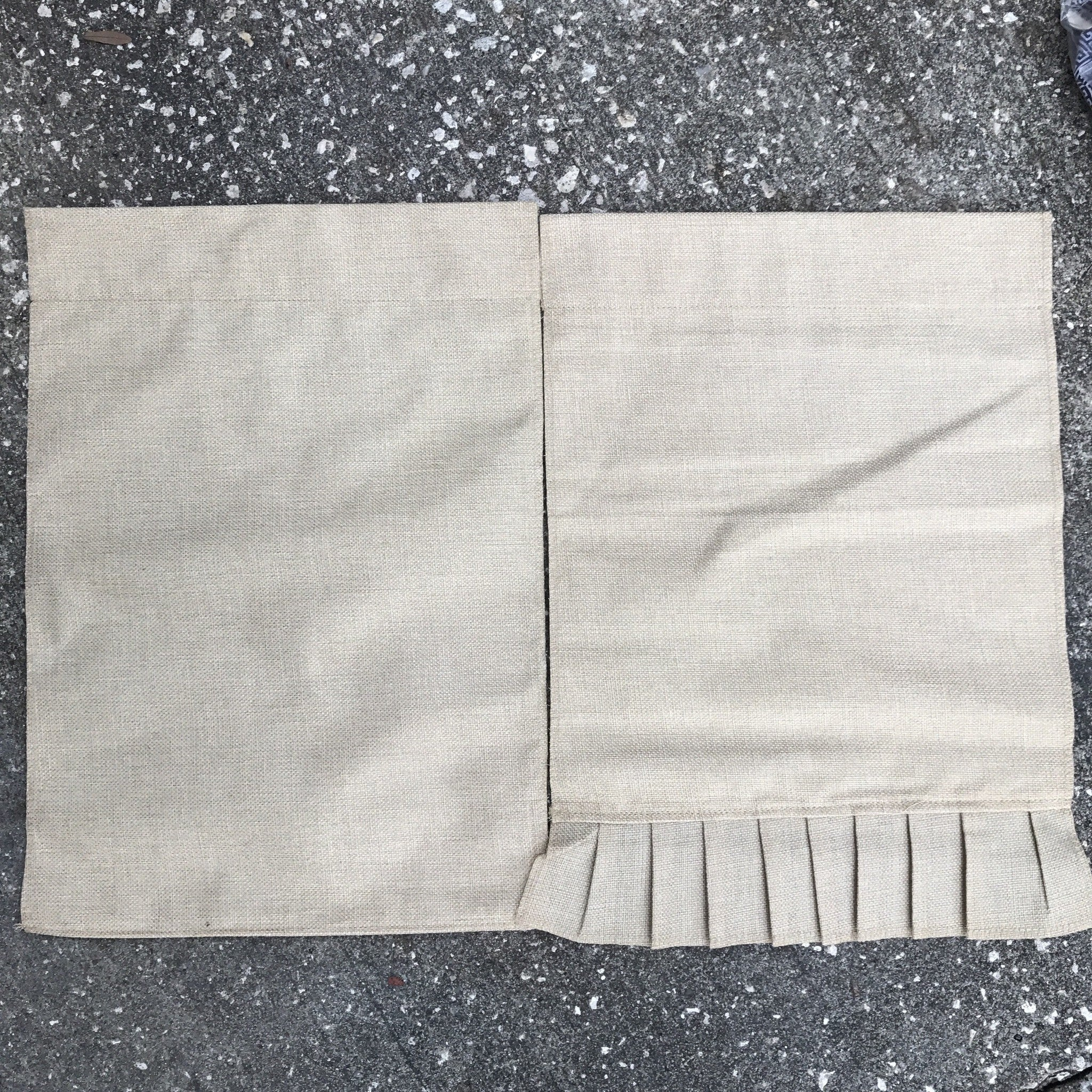 Flags garden cloth burlap KB blanks LLC