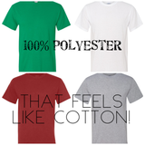Clothing : 100% Polyester Shirts