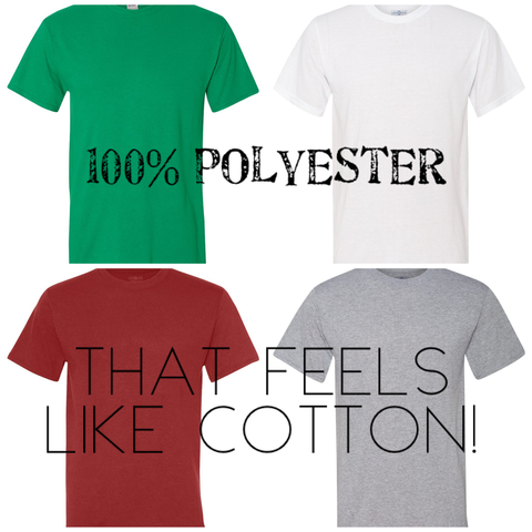 Clothing : Polyester Colored Shirts