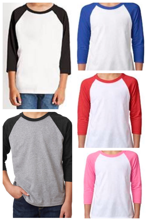 Clothing : Youth Raglan